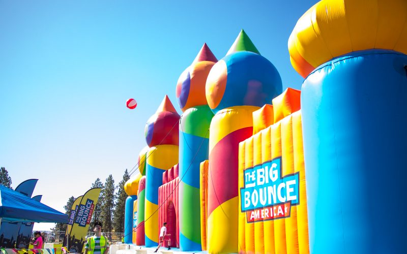 Kick Off Summer Break with The Biggest Bounce House EVER – Denver, Colorado.