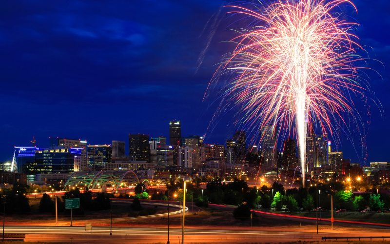 4th of July Fireworks in Denver!