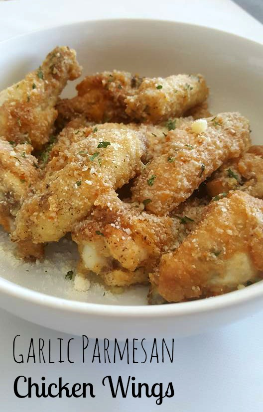 Garlic Parmesan Chicken Wings The Denver Housewife