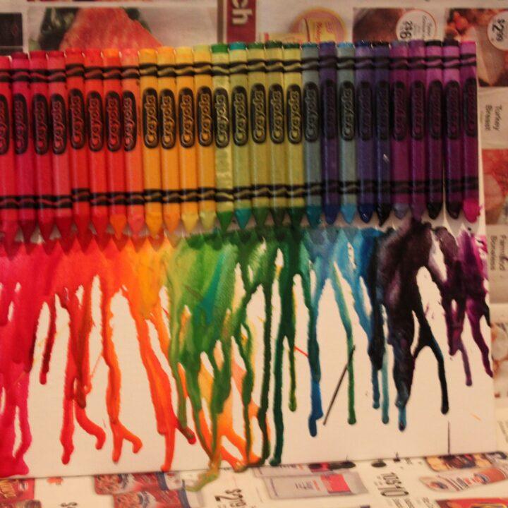 Crayola Canvas Art
