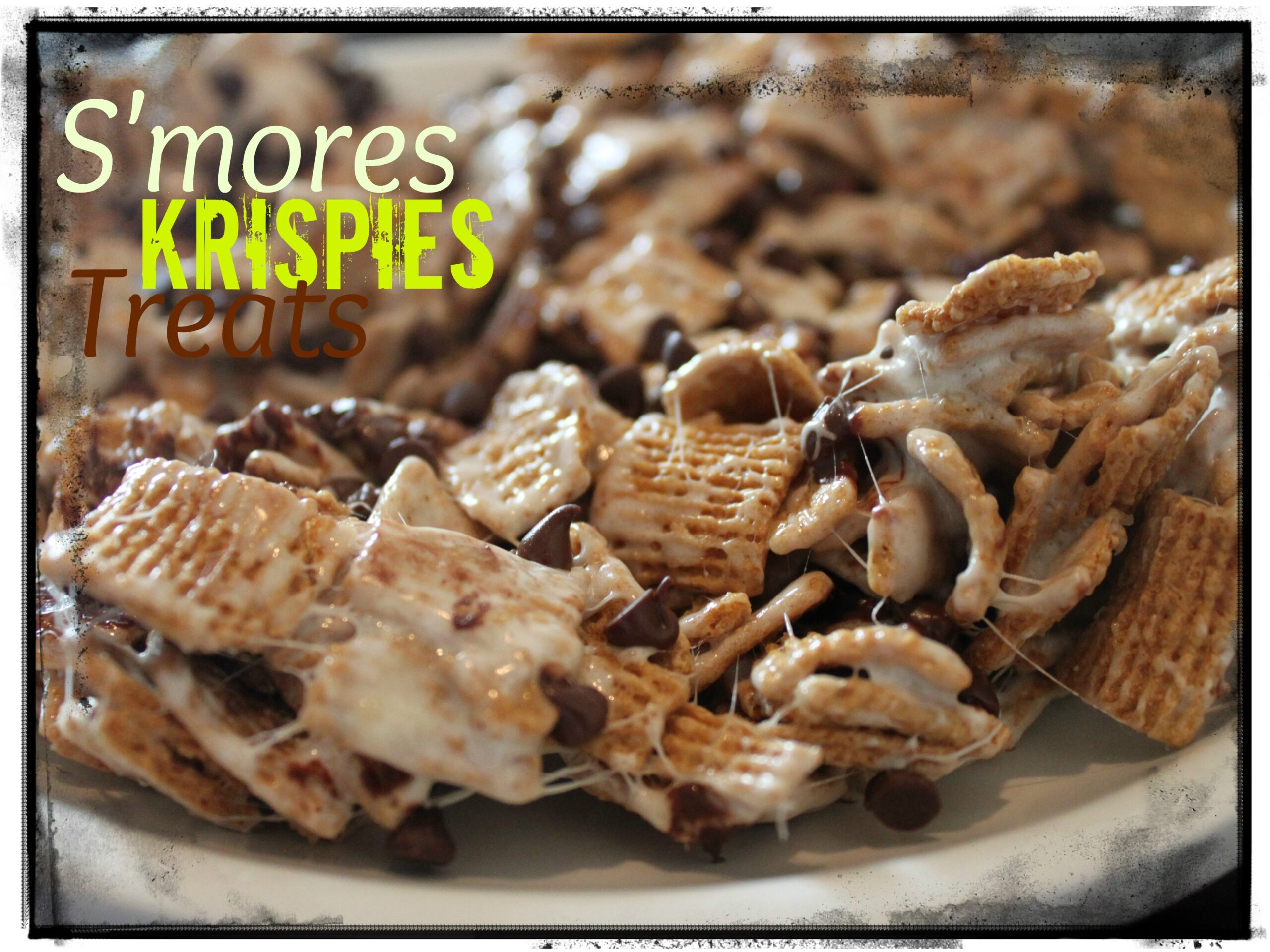 S'mores Krispies Treats – Recipe