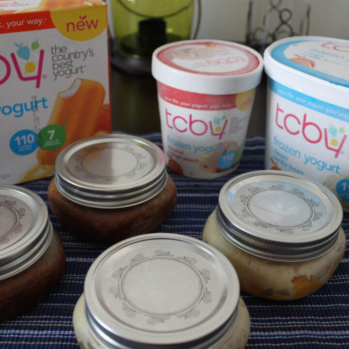 Viewing the Olympic games with TCBY Frozen Yogurt!