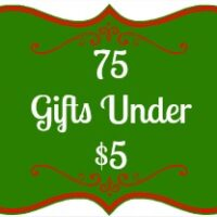 2021's List of 75 Gifts Under $5 or Less