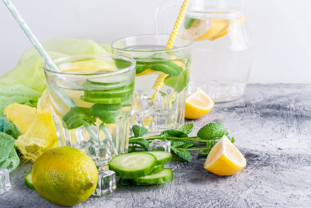 lemon infused water for weight loss
