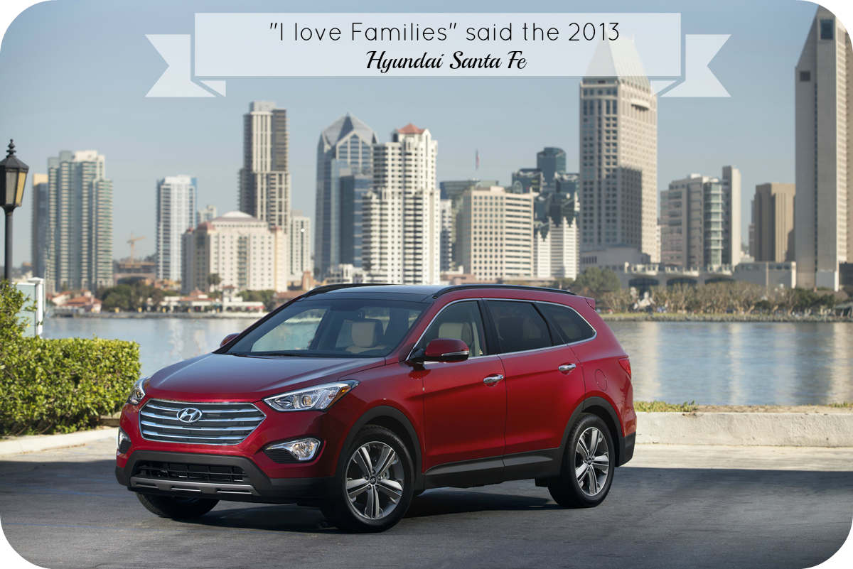 The Family Friendly 2013 Hyundai Santa Fe