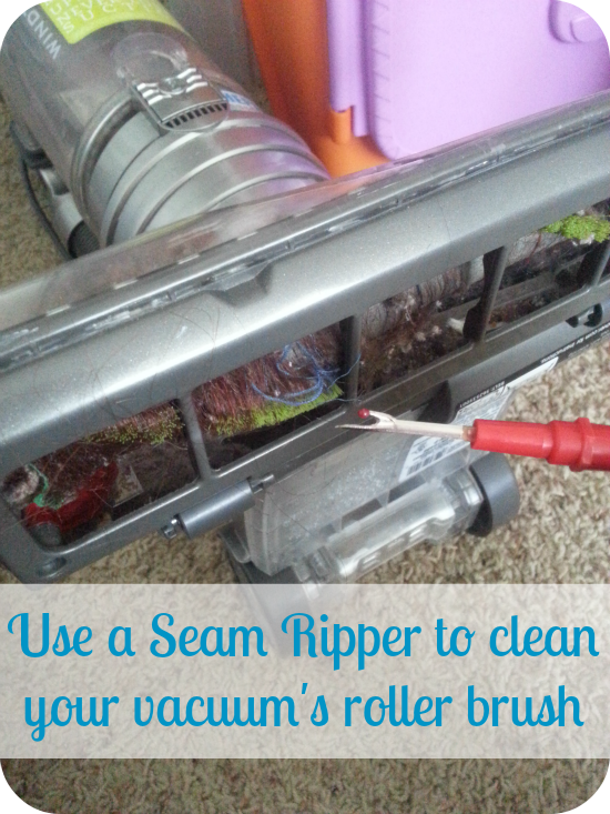 How to Clean your Vacuum's Roller Brush
