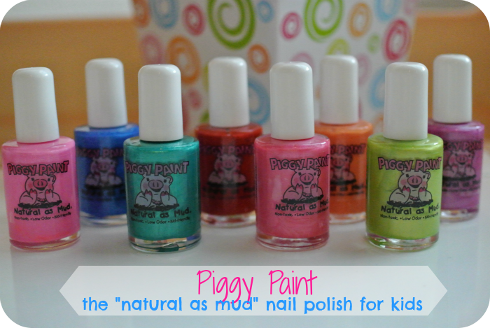 Piggy Paint: The Natural as Mud Nail Polish for Kids!