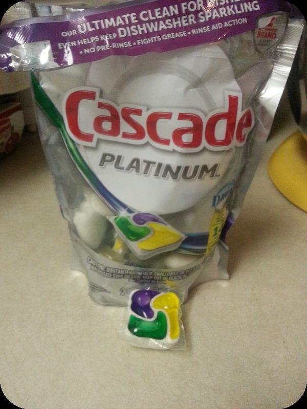 Cascade Platinum Pacs + #MyPlatinum Instagram Contest