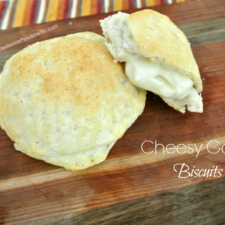 Cheesy Garlic Biscuits with Pompeian Olive Oil!