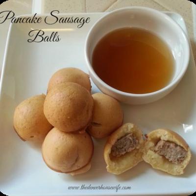Bring Back Breakfast: Hungry Jack Pancake Sausage Balls!