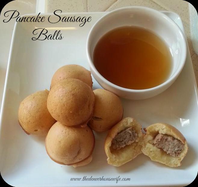 Bring Back Breakfast: Hungry Jack Pancake Sausage Balls