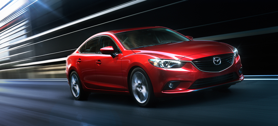 Zoom Zoom Zooming with the 2014 Mazda6 i Grand Touring!
