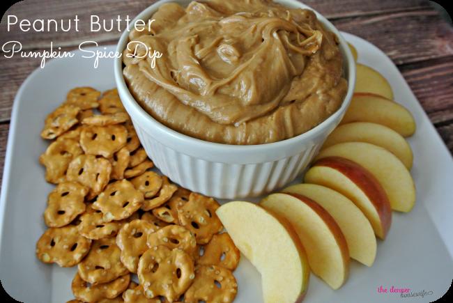 Peanut Butter Pumpkin Pie Spice Fruit Dip!