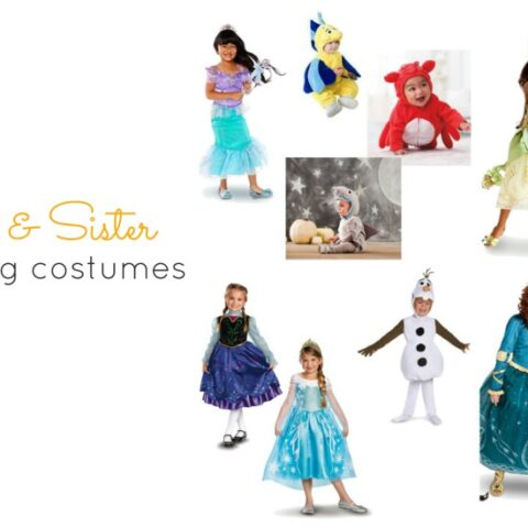 Brother and Sister Halloween Costumes: The Princess Edition!