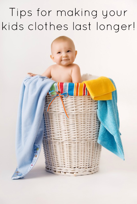 Tips For Making Your Kids Clothes Last Longer