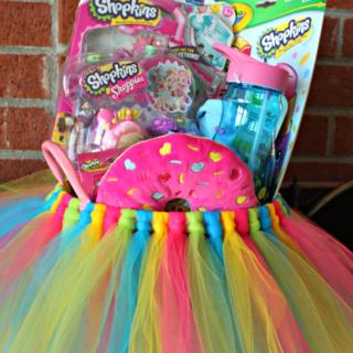 DIY: Shopkins Tutu Easter Basket!