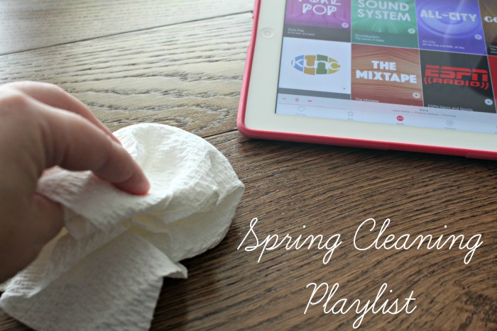 10 Songs to Make Spring Cleaning Fun! #SpringClean16