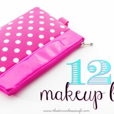 12 Uses for Makeup Bags!
