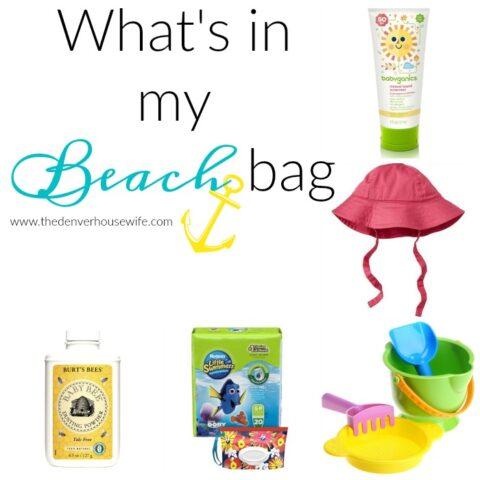 What's in My Kids Beach Bag