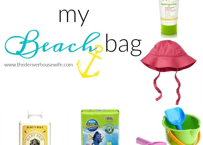 What's in My Kids Beach Bag