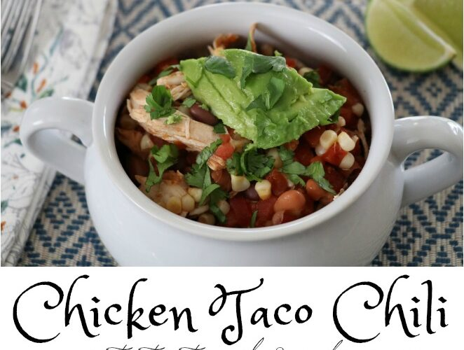 New Comfort Food: Chicken Taco Chili