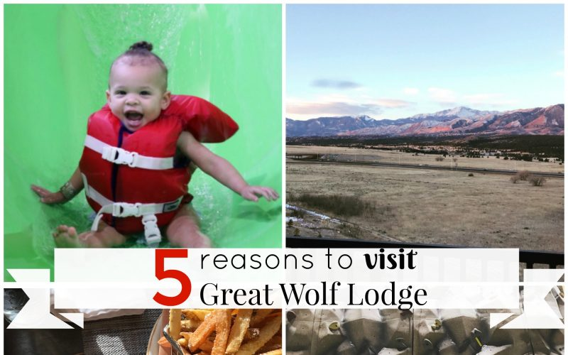 5 Reasons You Should Stay at Great Wolf Lodge Colorado Springs! #GWLCOSprings