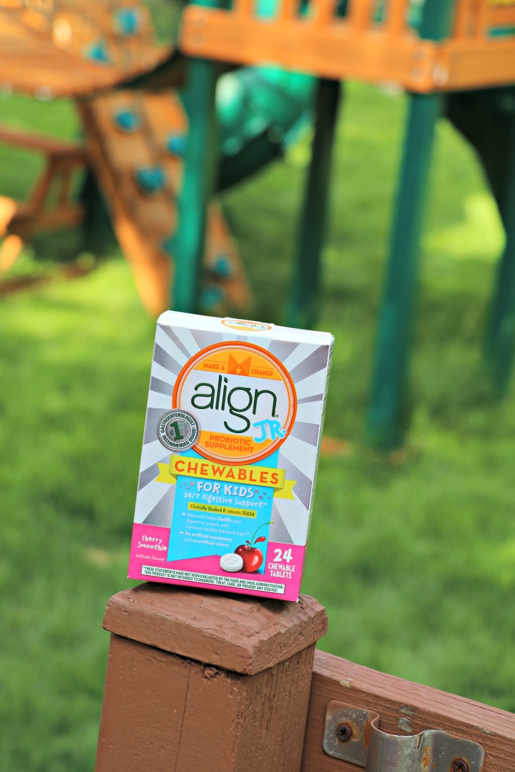 Keeping my Kids Digestive Systems on Track with Align Jr.