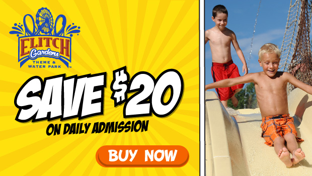 Exclusive Discount Tickets for Elitch Gardens Theme and Water Parks!