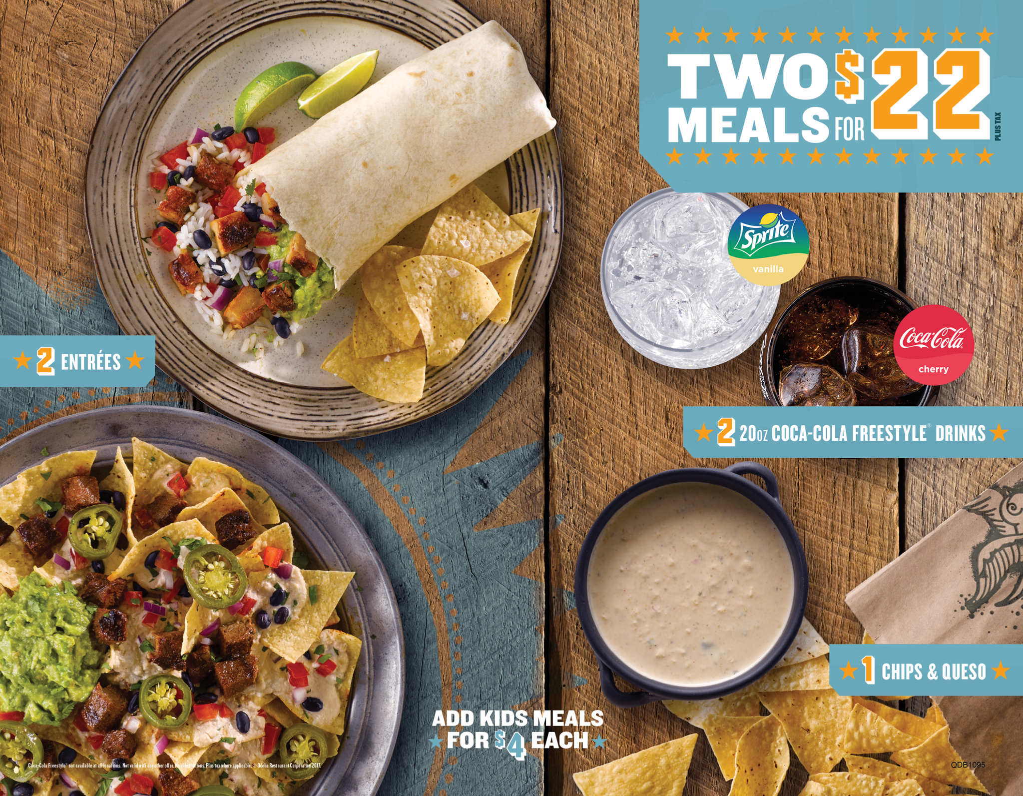 Dining Out is a Breeze with Qdoba's New 2 for $22 Deal