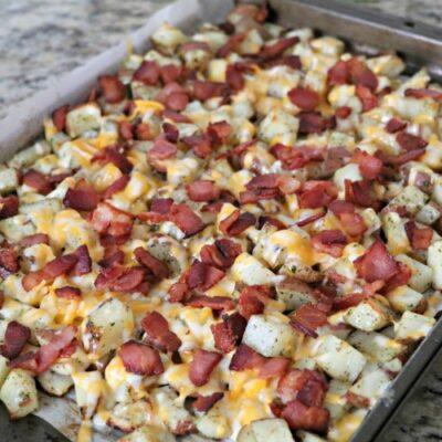 Mama's Cheesy Bacon Ranch Potatoes