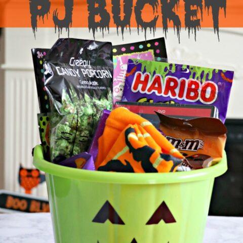 Halloween Traditions: Pajama Buckets!