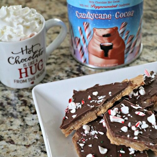Stephen's Gourmet Hot Cocoa & Peppermint Graham Cracker Bark!