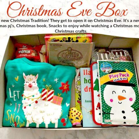 Christmas Traditions: The Christmas Eve Pajama Box!