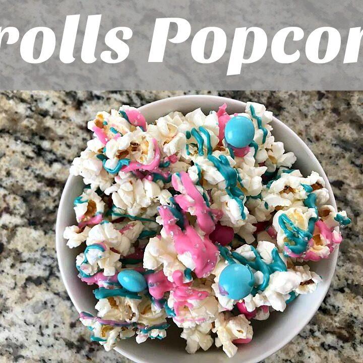 Trolls Popcorn + Trolls Holiday Movie!