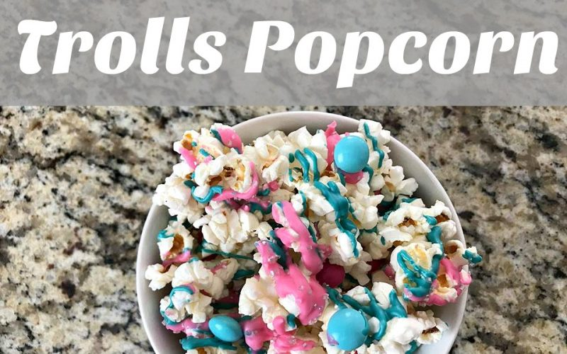 Trolls Popcorn + Trolls Holiday Movie!