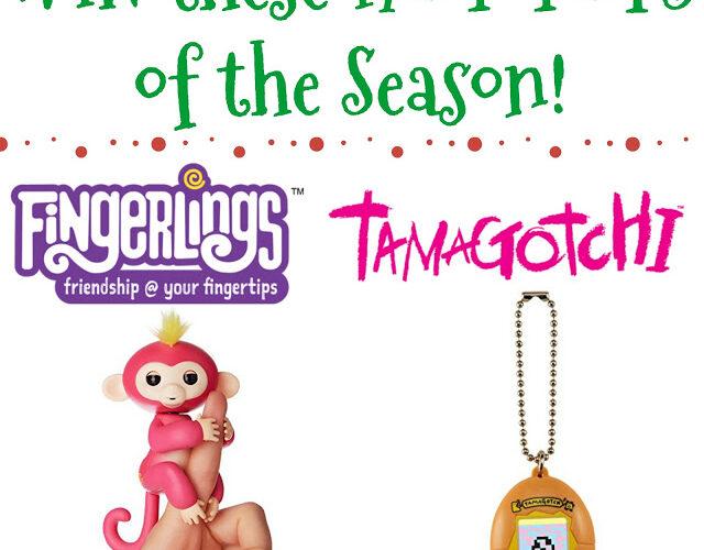 Hot Toys Giveaway: Fingerling & Tamagotchi!