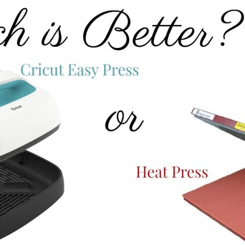 Cricut Easy Press or Heat Press. Which is Better?