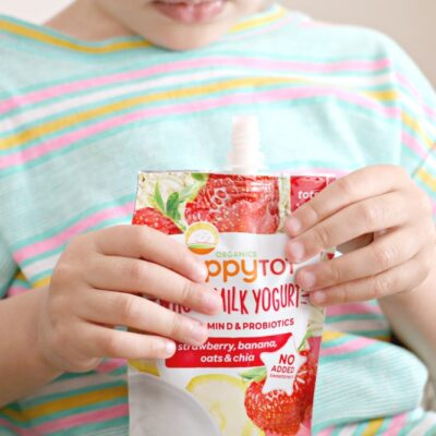 Healthier Snacks for Tiny Tots!