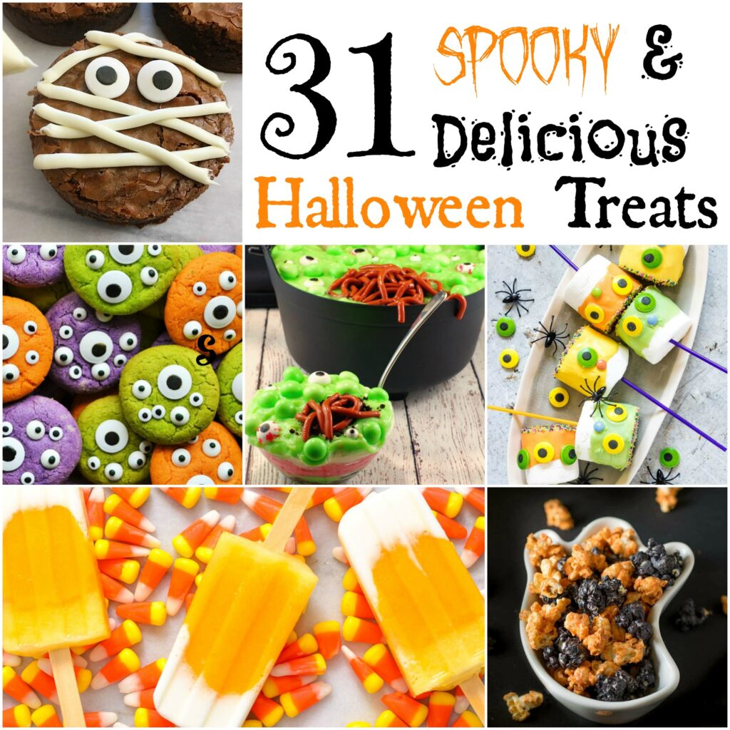 31 Days of Spooky & Delicious Halloween Treats!