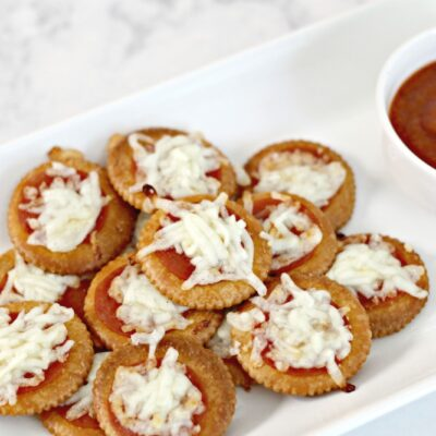 Pizza Crackers – The Perfect Lunchtime Snack!