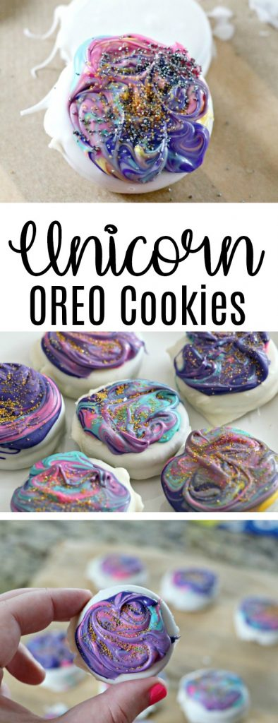 DIY Unicorn OREO Cookies