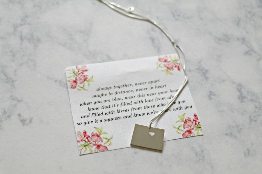 Colorado Necklace Jewelry