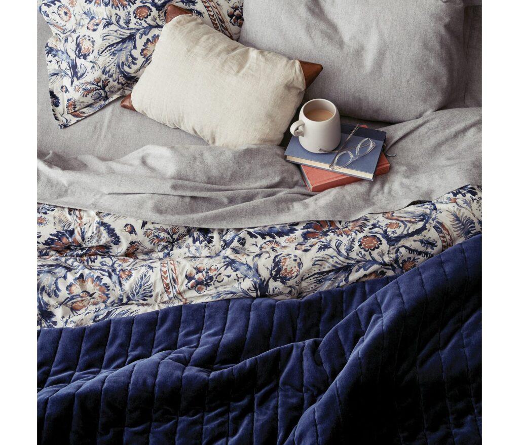 Target Navy Floral Bedding