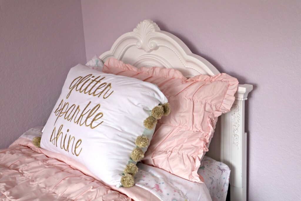 Girl Unicorn Bed Makeover