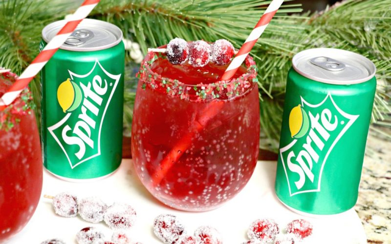 Holiday Mocktail: Cranberry Shirley Temple
