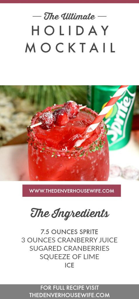 The Ultimate Holiday Mocktail