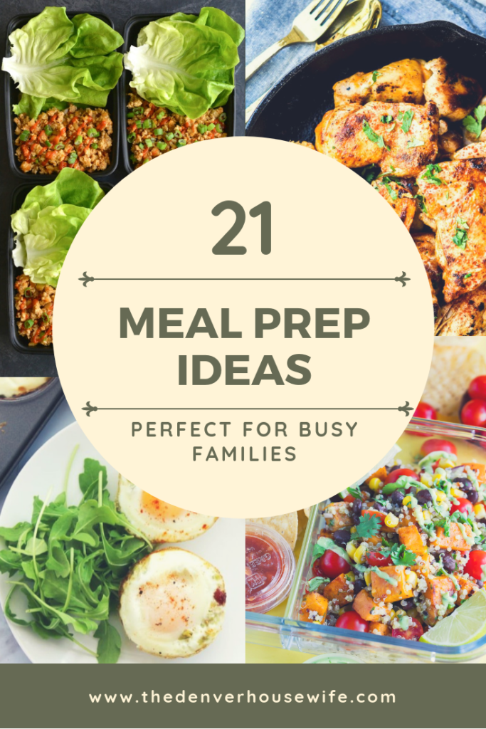 21 Meal Prep Ideas for Busy Families