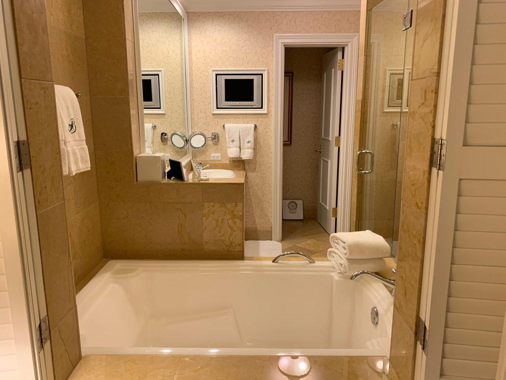 The Broadmoor South Tower King Suite Bathroom