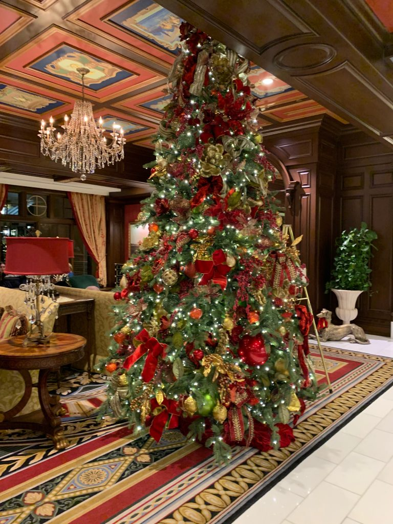 Christmas Decorations at The Broadmoor