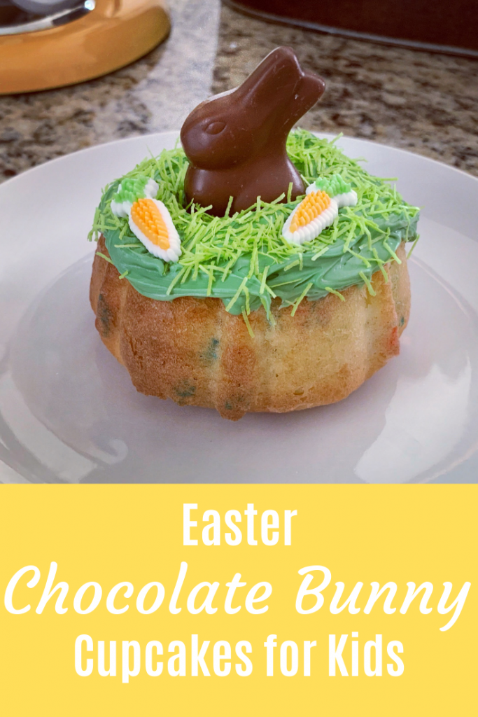 Easter Chocolate Bunny Cupcakes